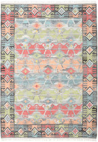 Azteca - Coral Multi Rug 240X340 Authentic  Modern Handwoven Light Grey/Dark Grey (Wool, India)
