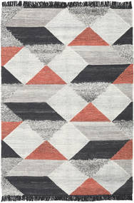 Isha - Pink Rug 160X230 Authentic  Modern Handwoven Beige/Light Grey/Dark Grey (Wool, India)