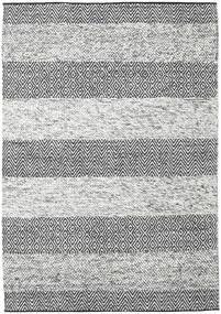 Folke - Grey Rug 160X230 Authentic  Modern Handwoven Light Grey/Dark Grey (Wool, India)
