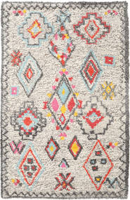 Fatima - Multi Rug 160X230 Authentic  Modern Handwoven Light Grey/Beige (Wool, India)