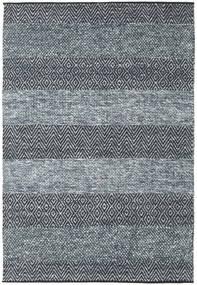Folke - Denim 青 絨毯 140X200 モダン 手織り 濃いグレー/紺色の/薄い灰色 (ウール, インド)
