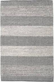 Folke - Brown Rug 160X230 Authentic  Modern Handwoven Light Grey/Dark Grey (Wool, India)