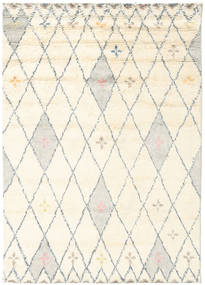 Hatsya - White Rug 170X240 Authentic  Modern Handwoven Beige/Dark Beige (Wool, India)