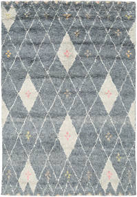 Hatsya - Grey Rug 170X240 Authentic  Modern Handknotted Light Grey (Wool, India)