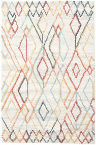 Naima - Multi Rug 200X300 Authentic  Modern Handwoven Beige/White/Creme (Wool, India)