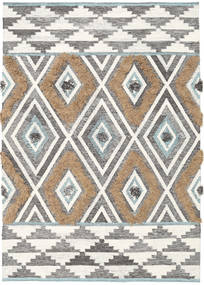 Yllen - Teal Rug 140X200 Authentic  Modern Handwoven Light Grey/Beige (Wool, India)