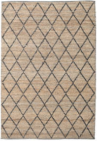 Serena Jute - Natural / Black rug CVD20272