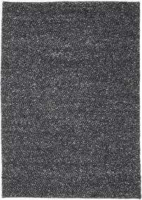 Bubbles - Melange Black Rug 170X240 Modern Dark Grey (Wool, India)