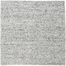 Bubbles - Melange Grey Rug 250X250 Modern Square Light Grey/Dark Grey Large (Wool, India)