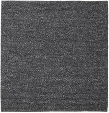 Bubbles - Melange Negro Alfombra 250X250 Moderna Cuadrada Gris Oscuro Grande (Lana, India)