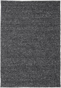 Bubbles - Melange Black Rug 250X350 Modern Dark Grey Large (Wool, India)