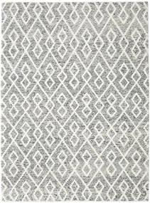 Hudson - Melange Black Rug 250X350 Modern Beige/Light Grey Large (Wool, India)
