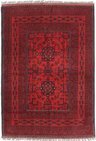 Afghan Khal Mohammadi Teppich 106X148 Echter Orientalischer Handgeknüpfter Dunkelrot (Wolle, Afghanistan)