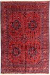 Афган Khal Mohammadi Ковер 198X294 Ковры Ручной Работы Темно-Красный/Красный (Шерсть, Афганистан)