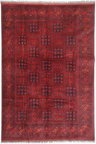 Afghan Khal Mohammadi Rug 194X296 Authentic  Oriental Handknotted Dark Red/Crimson Red (Wool, Afghanistan)