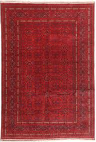 Afghan Khal Mohammadi Rug 197X290 Authentic  Oriental Handknotted Dark Red/Crimson Red (Wool, Afghanistan)
