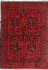 Afghan Khal Mohammadi Rug 201X287 Authentic  Oriental Handknotted Dark Red/Crimson Red (Wool, Afghanistan)