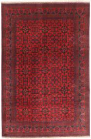 Afghan Khal Mohammadi Rug 197X294 Authentic  Oriental Handknotted Dark Red/Crimson Red (Wool, Afghanistan)