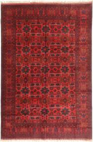 Afghan Khal Mohammadi Matto 199X294 Itämainen Käsinsolmittu Tummanpunainen (Villa, Afganistan)
