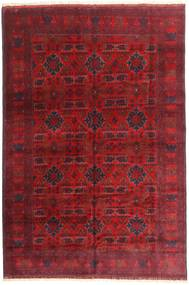 Afghan Khal Mohammadi Rug 198X292 Authentic  Oriental Handknotted Dark Red/Crimson Red (Wool, Afghanistan)