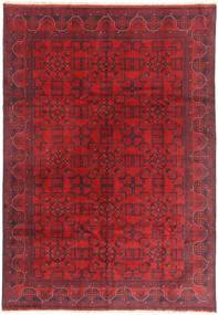 Afghan Khal Mohammadi Rug 198X289 Authentic  Oriental Handknotted Dark Red/Crimson Red (Wool, Afghanistan)