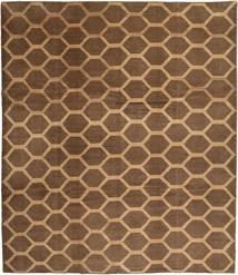 Loribaft Persia Matto 314X364 Moderni Käsinsolmittu Ruskea/Vaaleanruskea Isot (Villa, Persia/Iran)