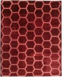 Loribaft Persia Rug 309X385 Authentic  Modern Handknotted Dark Red/Dark Brown Large (Wool, Persia/Iran)