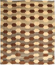 Loribaft Persia Rug 310X365 Authentic  Modern Handknotted Light Brown/Brown Large (Wool, Persia/Iran)