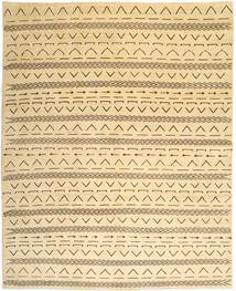 Loribaft Persisk Matta 307X378 Äkta Modern Handknuten Mörkbeige/Beige Stor (Ull, Persien/Iran)