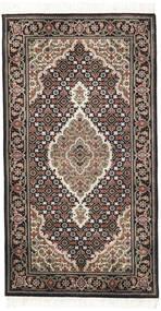 Tabriz Royal Matta 72X139 Äkta Orientalisk Handknuten Ljusgrå/Mörkgrå ( Indien)