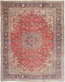 Nadżafabad Patina Dywan 290X365 Orientalny Tkany Ręcznie Ciemnoczerwony/Beżowy Duży (Wełna, Persja/Iran)