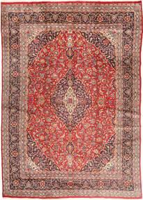 Mashad Tapis 285X405 D'orient Fait Main Rouge Foncé/Marron Grand (Laine, Perse/Iran)
