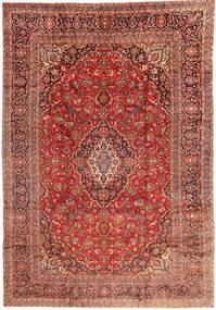 Kashan Szőnyeg 285X415 Keleti Csomózású Sötétpiros/Sötétbarna Nagy (Gyapjú, Perzsia/Irán)
