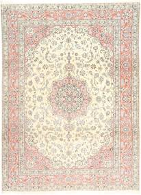 Nain 9La Rug 248X344 Authentic  Oriental Handknotted Beige/Light Brown (Wool/Silk, Persia/Iran)