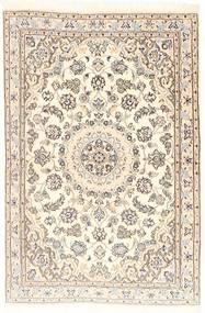 Nain 9La Koberec 96X147 Orientální Ručně Tkaný Béžová/Světle Hnědá (Vlna/Hedvábí, Persie/Írán)