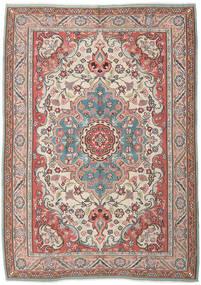 Kelim Russisk Tæppe 205X290 Ægte Orientalsk Håndvævet Mørkebrun/Lysebrun (Uld, Azarbaijan/Rusland)