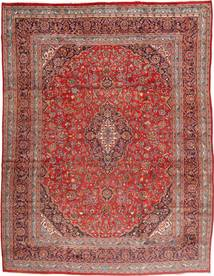 Mashad Rug 305X395 Authentic  Oriental Handknotted Brown/Light Brown Large (Wool, Persia/Iran)