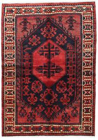 Лори Ковер 155X217 Ковры Ручной Работы Темно-Красный/Темно-Синий (Шерсть, Персия/Иран)
