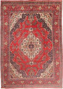 Tabriz Rug 285X400 Authentic  Oriental Handknotted Brown/Dark Red Large (Wool, Persia/Iran)