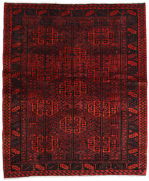 Lori Rug 170X203 Authentic  Oriental Handknotted Dark Red/Dark Brown (Wool, Persia/Iran)