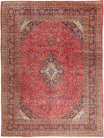Mashad Rug 295X390 Authentic  Oriental Handknotted Brown/Dark Red Large (Wool, Persia/Iran)