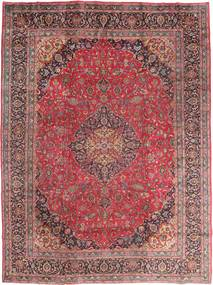 Mashad Rug 295X395 Authentic  Oriental Handknotted Dark Red/Purple Large (Wool, Persia/Iran)
