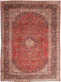 Mashad Tapete 285X390 Oriental Feito A Mão Castanho/Roxo Grande (Lã, Pérsia/Irão)