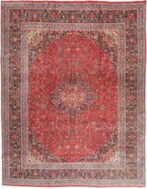 Mashad Rug 300X380 Authentic  Oriental Handknotted Dark Red/Purple Large (Wool, Persia/Iran)