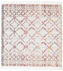 Royal - Cream/Multi Rug 200X200 Modern Square White/Creme/Light Grey ( Turkey)