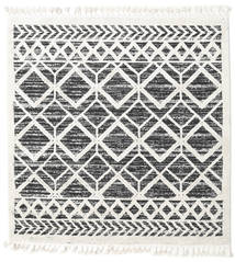 Royal - Black/Cream Rug 200X200 Modern Square Beige/Dark Grey ( Turkey)