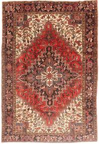 Heriz Rug 210X310 Authentic  Oriental Handknotted Brown/Light Brown (Wool, Persia/Iran)