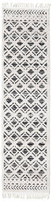 Royal - Black/Cream Rug 80X400 Modern Hallway Runner  White/Creme/Beige/Light Grey ( Turkey)