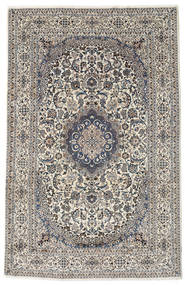 Nain Rug 242X372 Authentic  Oriental Handknotted Beige/Light Grey (Wool, Persia/Iran)
