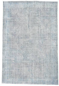 Colored Vintage Rug 200X294 Authentic  Modern Handknotted Light Grey/Beige (Wool, Turkey)